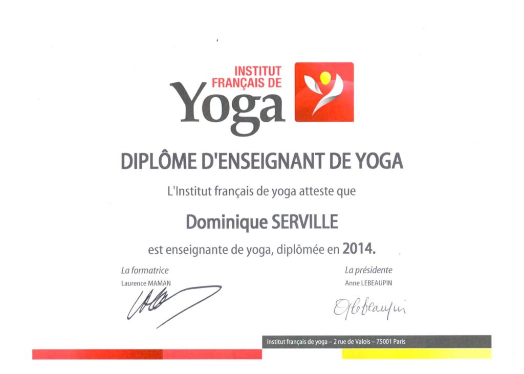 Présentation - Diplôme de yoga- Versailles - Instant - Yoga