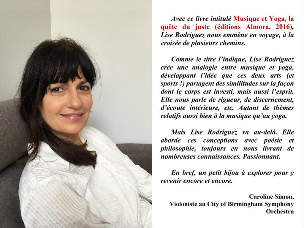 Activités - Actualités - Conférence Lise Rodriguez - Versailles Instant Yoga