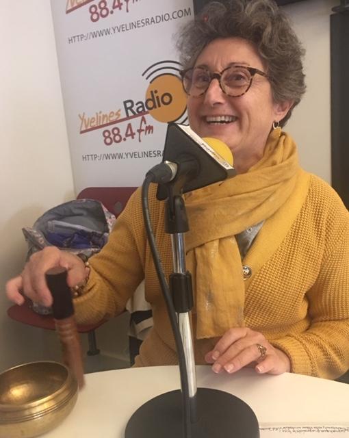 Dominique Serville - radio - Versailles Instant Yoga